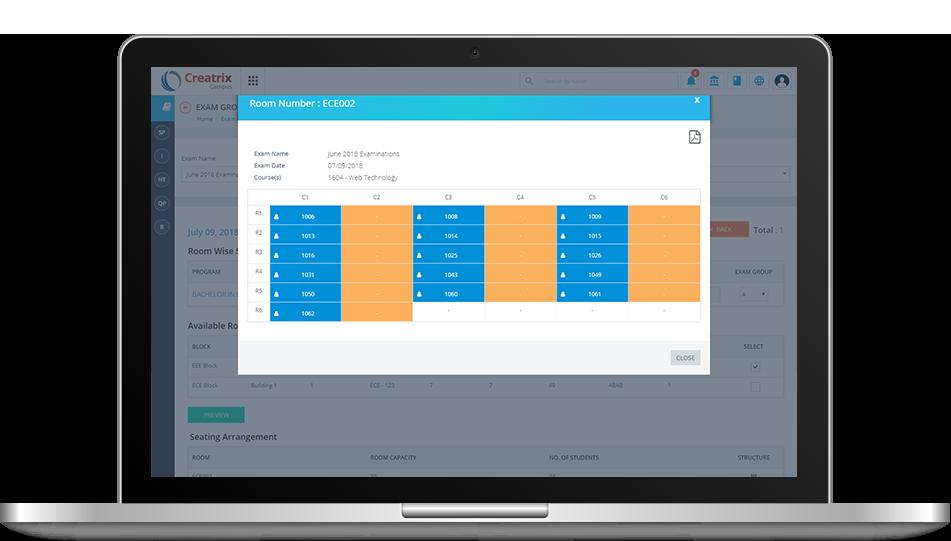 Examination Management Software System | Creatrix Campus