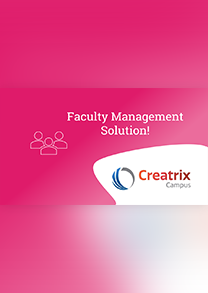 Faculty Management Solution!