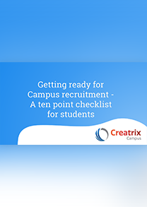 Getting ready for Campus recruitment - A ten point checklist for students