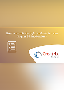 How to recruit the right students for your Higher Ed. Institution