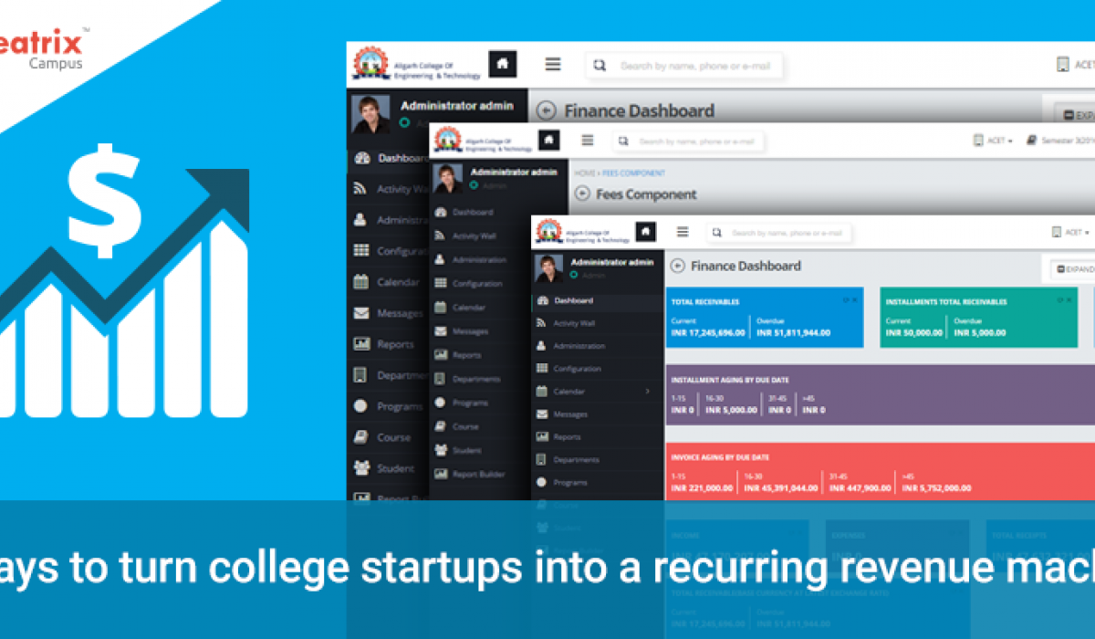 5 ways to turn college startups into a recurring revenue
