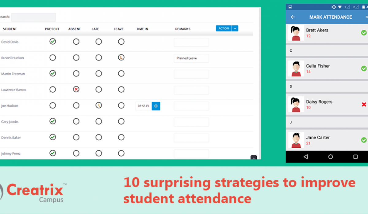 10 surprising strategies to improve student attendance | Creatrix