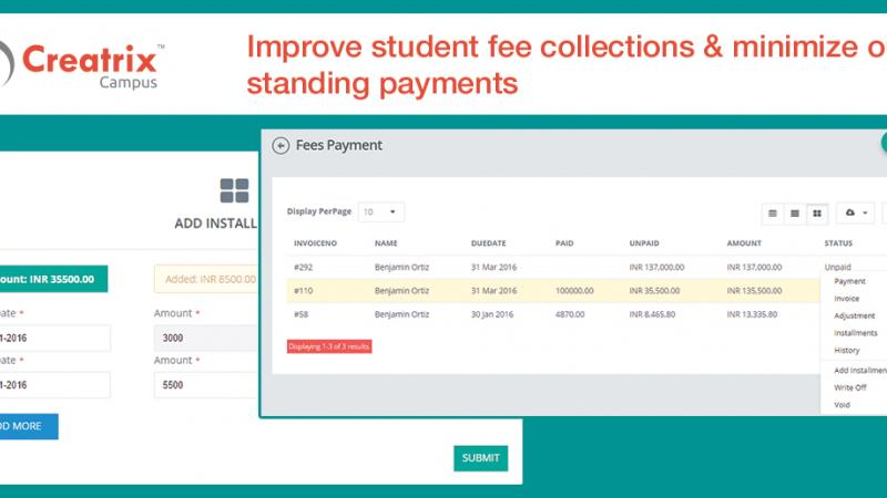 Student fee collections